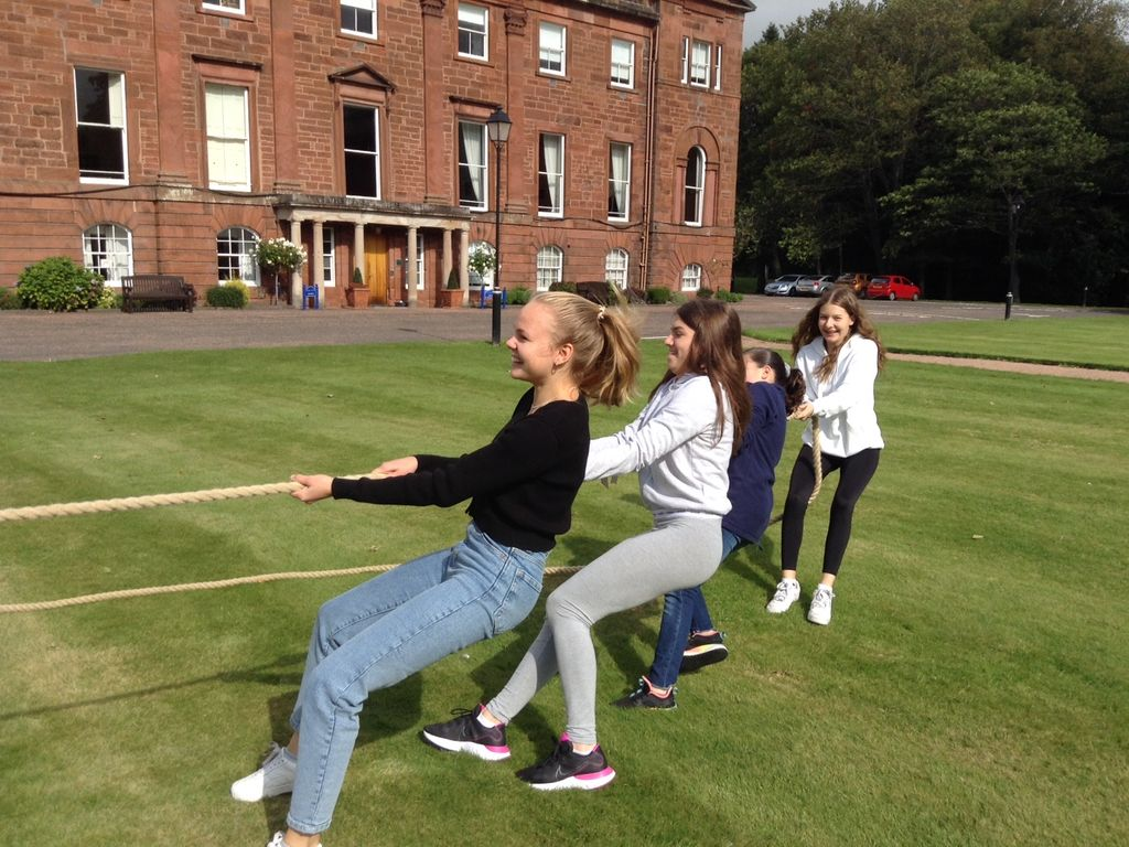 Playtime goes full circle at Kilgraston